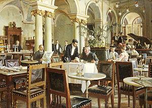 Frants Henningsen - Image: Henningsen Industricafeen 1906