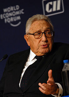 Henry Kissinger, at the World Economic Forums India Economic Summit 2008, New Delhi.jpg