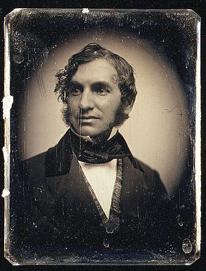 Henry Wadsworth Longfellow, circa 1850.