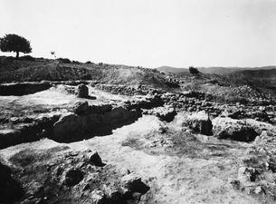 Herakleskapellet efter utgrävningen. Vouni. fråga. Galini - SMVK - C03037.tif