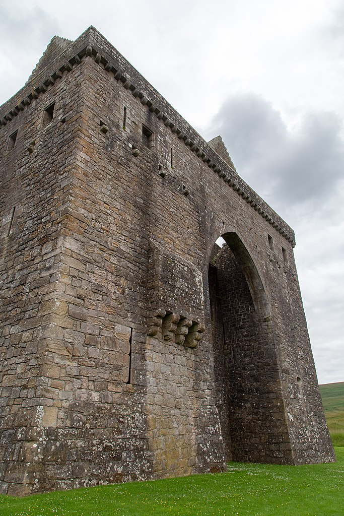 Front gat of Hermitage Castle