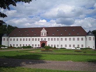 Schönborn family - Heusenstamm Castle, built in 1661 for Philipp Erwein von Schönborn