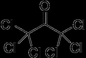 Hexachloroacetone - Image: Hexachloroacetone