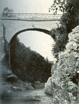 Highbridge, Scotland - The bridge as it was in 1899