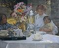Hilda Fearon-La fiesta del té.jpg