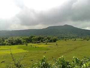 Rajmahal Traps - View of Rajmahal Hills
