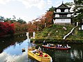 Hirosaki Castle chrysanthemum and autumn leaves festival 01.jpg