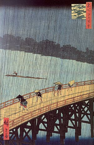 Hiroshige - Evening Shower at Atake and the Great Bridge.jpg