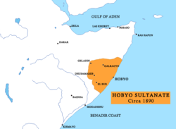 The Sultanate of Hobyo in the late 19th century [1]