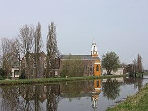Hodenpijl - Hodenpijl and river Gaag