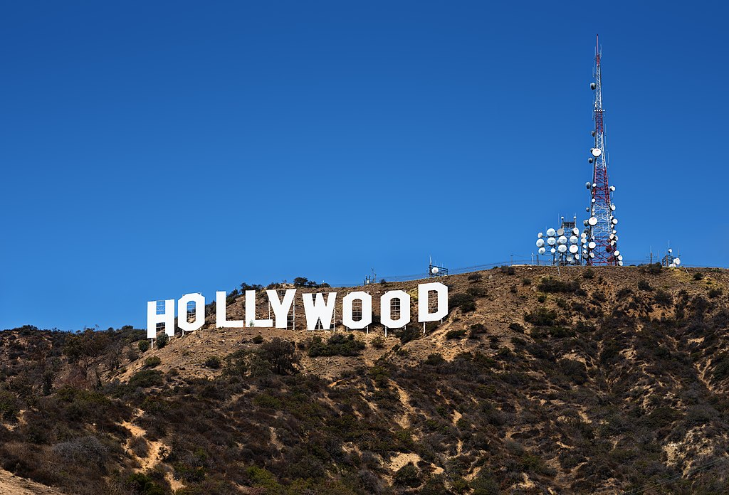 Appartement à Los Angeles : Vue sur les signes Hollywood. Photo de Thomas Wolf, www.foto-tw.de