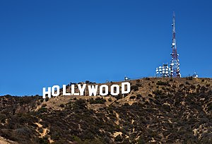 Hollywood Sign - The sign from the Hollywood Hills.