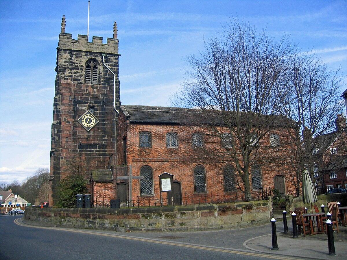 St Luke's Church, Holmes Chapel - Wikipedia