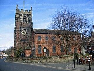 St Lukes Church, Holmes Chapel Church in Cheshire, England