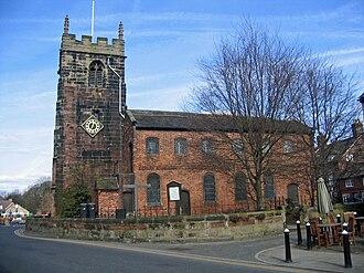 St Luke's Church, Holmes Chapel - Image: Holmes Chapel 1