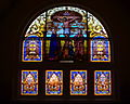 Holy Name of Mary Church (Cavalry, Kentucky) - stained glass, The Crucifixion.jpg