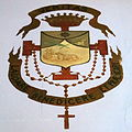Holy Trinity Catholic Church (Somerset, Ohio) - fresco, Dominican heraldry.jpg