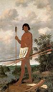 A Tupi man