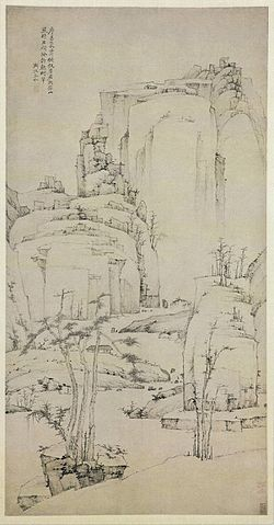 Hongren (Hong Ren); The Coming of Autumn, 1658-61; ink on paper; China.jpg