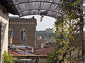 Hotel medici, terrazza, veduta orsanmichele 01.JPG