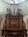 Houdan (78), église Saint-Jacques et Saint-Christophe, chœur, retable du maître-autel, parties hautes.jpg