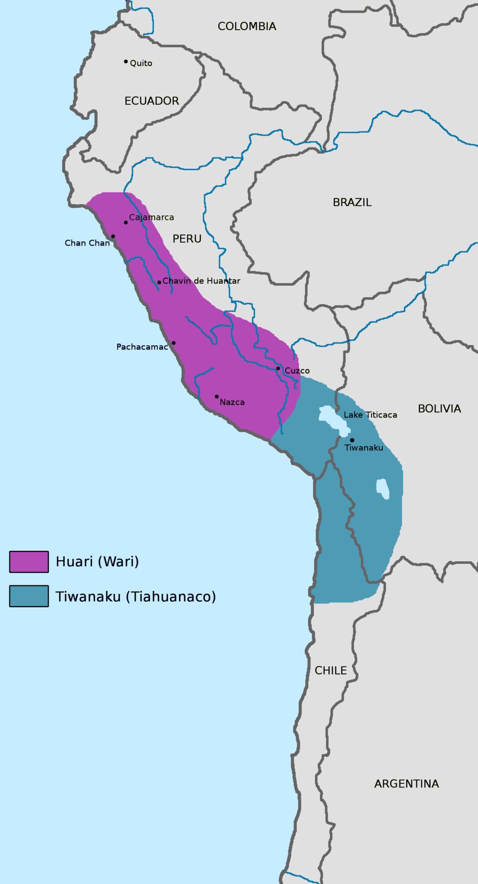 Huari-with-tiahuanaco