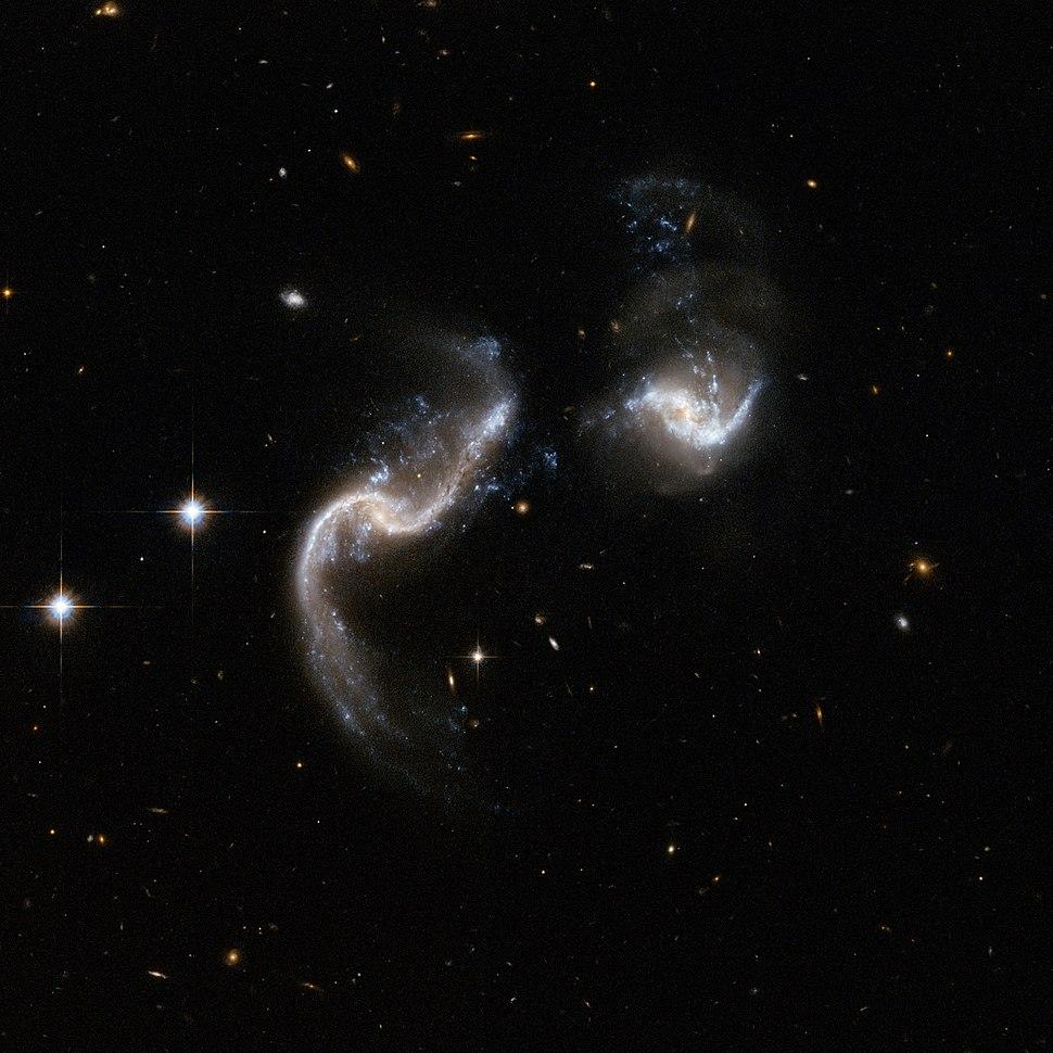 Hubble Interacting Galaxy Arp 256 (2008-04-24)