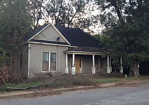 National Register of Historic Places listings in Panola County, Mississippi - Image: Hufft House