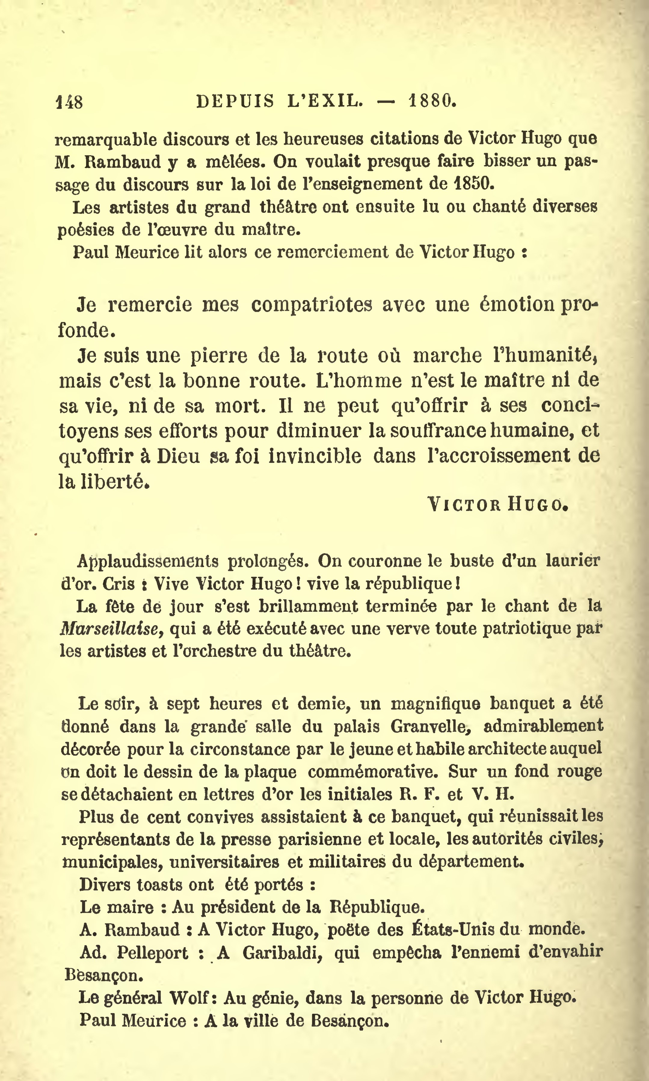 Page Hugo Actes Et Paroles Volume 7 Djvu 158 Wikisource