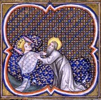Hugh Capet - Apparition of Saint Valery to Hugh Capet