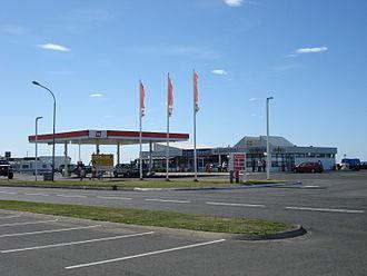 Hvolsvöllur - Gas station in Hvolsvöllur