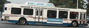 Hybrid vehicle - Hybrid New Flyer Metrobus