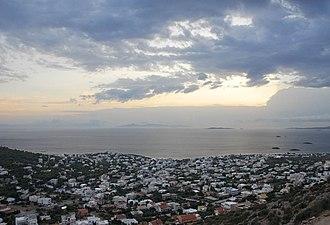 Saronida - Image: ILK Saronida