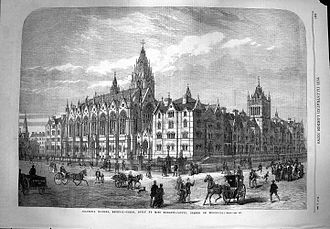 William Burdett-Coutts - Columbia Market in the Illustrated London News, 1869