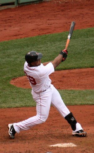 Adrián Beltré - Beltré batting for the Boston Red Sox in 2010.