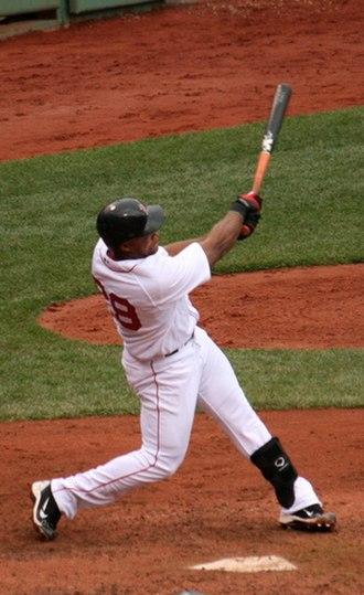 Adrián Beltré - Beltré batting for the Boston Red Sox in 2010.