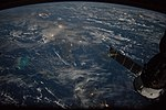 ISS-54 Caribbean islands at night.jpg