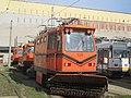ITB 3VU snowplow tram in Victoria tram depot.jpg