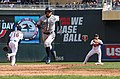 Ichiro Suzuki - Minnesota Twins - Opening Day vs Seattle Mariners (40371667045).jpg