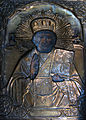 Icon of saint covered with a Riza at Dormition Church at Kondopoga.jpg