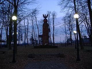 Nowe Iganie Village in Masovian Voivodeship, Poland