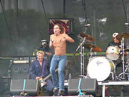 Iggy & The Stooges op Lollapalooza (Chicago), 5 augustus 2007