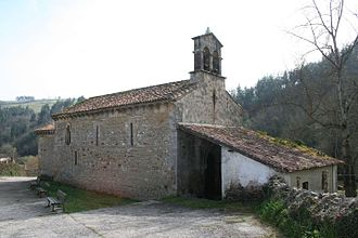 Iglesia de San Andrés (Valdebárzana) - Image: Iglesia de San Andrés (Valdebárzana) 01