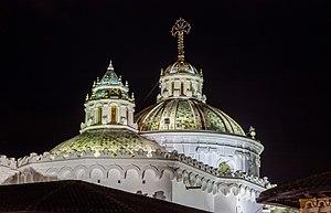 Compañía de Jesús, Quito - Image: Iglesia de la Compañía, Quito, Ecuador, 2015 07 22, DD 220 222 HDR