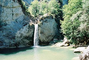 Kastamonu Province - Ilısu Waterfall, at Küre national Park, near Pınarbaşı, Kastamonu, Turkey