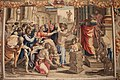Il sacrificio di Listri di manifattura di Mortlake su cartoni di Raffaello, 1630 circa.JPG
