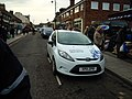 Illegally Parked Traffic Warden in Sheringham 24 December 2011.JPG