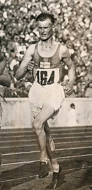 Ilmari Salminen - Salminen at the 1936 Olympics