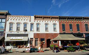 Fulton, Illinois - Fulton Commercial Historic District