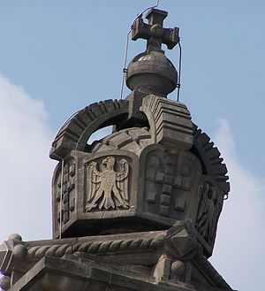 German State Crown - Model on the roof of the Reichstag Building